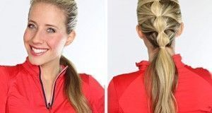 Cute Ponytail Hairstyle for Summer